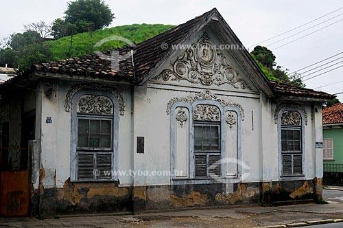 Casa da Princesa Isabel, construída em 1884 para receber e hospedar a Princesa Isabel quando da visita de seu pai, o Imperador D. Pedro II à cidade, século 19  - Barra do Piraí - Rio de Janeiro - Brasil