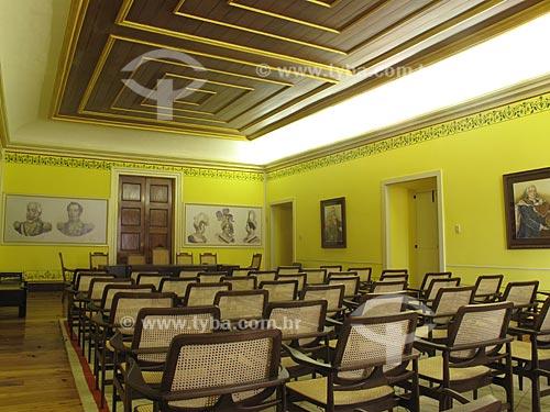 Assunto: Interior do Convento do Carmo - Quarto de Dona Maria I  / Local:  Rio de Janeiro - RJ  / Data: Dezembro de 2009