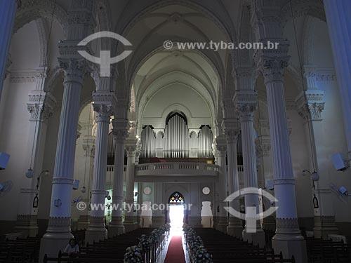 Órgão monumental (Construído pela firma italiana Tamburini) da Igreja Basílica de Nossa Senhora Auxiliadora - Inaugurado em 15 de abril de 1956 - Um dos cinco maiores órgãos do mundo, possui cerca de 11.130 tubos   - Niterói - Rio de Janeiro - Brasil