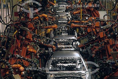 Assunto: Indústria automobilística - Fábrica de automóveis  / Local:  Coréia do Sul / Data:
