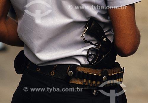 Assunto: Polícia Militar Armada / Local: Rio de Janeiro (RJ) - Brasil / Data: 2001