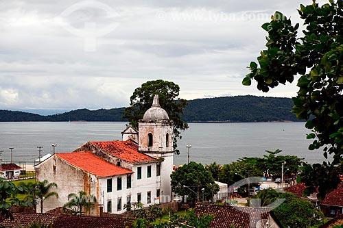 Assunto: Igreja Nossa Senhora do Rosário  / Local:  Vila histórica de Mambucaba - Baía de Angra dos Reis - Costa Verde - Rio de Janeiro  / Data: Janeiro 2010