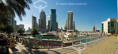 Assunto: Marina de Dubai / Local:  Dubai - Emirados Árabes Unidos  / Data: 01/2009
