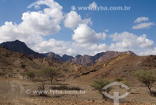 Assunto: Vista da serra de Al Hajar  / Local:  Dubai - Emirados Árabes Unidos  / Data: 01/2009