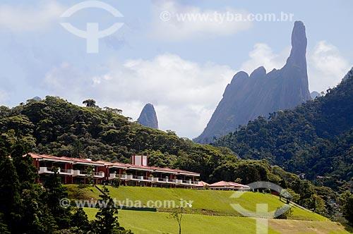 Assunto: Granja Comary, centro de treinamentos da CBF com o Pico Dedo de Deus ao fundo  / Local:  Teresópolis - Rio de Janeiro (RJ)  / Data: 2009