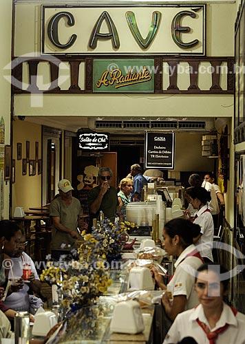 Assunto: Casa Cavé confeitaria tradicional do Centro do Rio de Janeiro  - Rua Uruguaiana / Local:  Rio de Janeiro  / Data: Agosto 2009