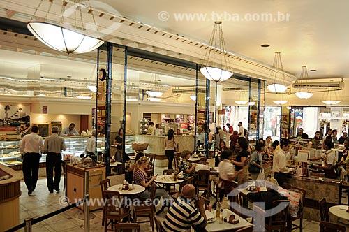 Assunto: Confeitaria Manon - Confeitaria tradicional do Centro do Rio de Janeiro  - Rua do Ouvidor 187  / Local:  Rio de Janeiro  / Data: Agosto 2009