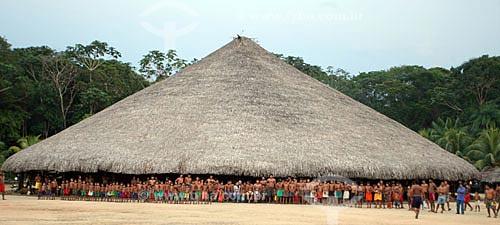 Aldeia Indígena Waimiri-Atroari, situada na BR-174 (Manaus - Boa Vista)  - Manaus - Amazonas - Brasil