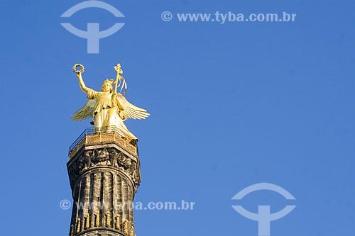 Assunto: Coluna da Vitória (Siegessäule)  / Local:  Berlim - Alemanha  / Data: 11/01/2009