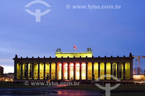 Assunto: O Altes Museum (Museu Antigo) é o maior e mais importante museu do mundo no campo da arte antiga da Grécia, Roma e Etrúria  / Local:  Berlim - Alemanha  / Data: 20/01/2009