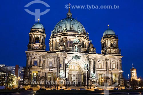 Assunto: Catedral de Berlim (Berliner Dom)  / Local:  Berlim - Alemanha  / Data: 20/01/2009
