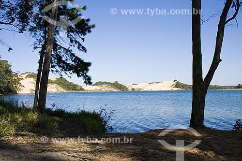 Assunto: Lagoa do Arroio Corrente  / Local:  Jaguaruna - Santa Catarina (SC) - Brasil  / Data: 16/08/2009
