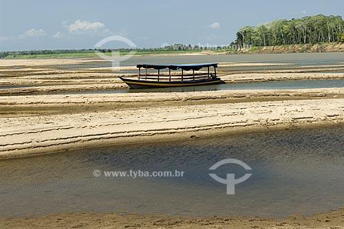 Assunto: Praia na boca do rio Madeira  / Local:  Amazonas (AM) - Brasil  / Data: 11/2007