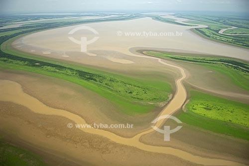 Assunto: Várzea amazônica, ao sul de Itacoatiara e a leste do encontro do rio Madeira com o rio Amazonas  / Local:  Amazonas (AM) - Brasil  / Data: 11/2007
