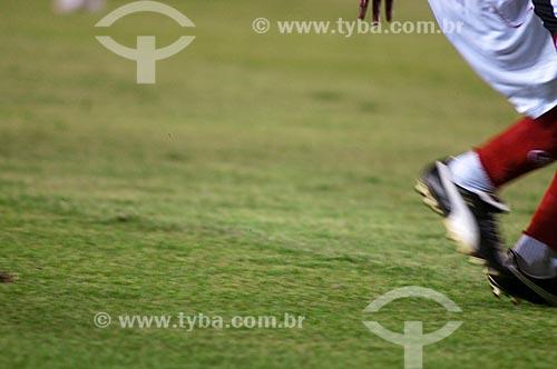 Assunto: Jogador durante jogo do Internacional x Atlético Mineiro no Estádio Governador Magalhães Pinto (Mineirão) / Local: Belo Horizonte - Minas Gerais (MG) - Brasil / Data: 22/11/2009