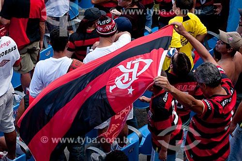 Assunto: Torcedores no Jogo final do Campeonato Brasileiro de 2009 Grêmio x Flamengo / Local: Maracanã - RJ / Data: 06/12/2009