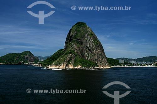 Assunto: Vista aérea do Pão de Açucar e da boca da barra da Baía de Guanabara / Local: Rio de Janeiro - RJ - Brasil / Date: 11/2009
