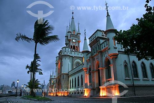 Assunto: Castelo da Ilha Fiscal, construído em estilo gótico-provençal  / Local:  Rio de Janeiro - RJ - Brasil  / Data: 11/2009