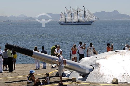 Assunto: Caravela - Forte de Copacabana  / Local:  Rio de Janeiro - RJ - Brasil  / Data: 02/2010