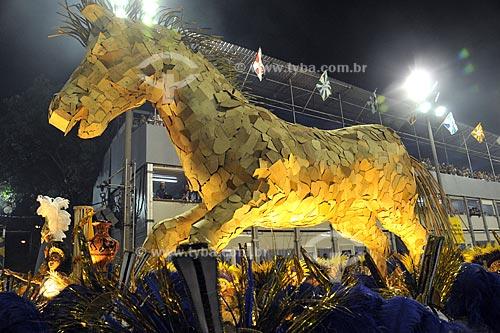 Assunto: Desfile da Escola de Samba Unidos da Tijuca  / Local:  Rio de Janeiro - RJ - Brasil  / Data: 02/2010