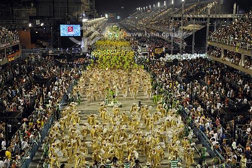 Assunto: Desfile da Escola de Samba Mocidade Independente de Padre Miguel  / Local:  Rio de Janeiro - RJ - Brasil  / Data: 02/2010