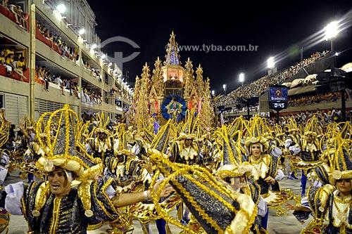 Assunto: Desfile da Escola de Samba Unidos do Porto da Pedra  / Local:  Rio de Janeiro - RJ - Brasil  / Data: 02/2010