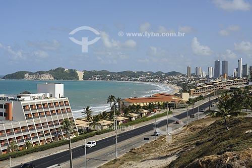 Assunto: Avenida Vis Costeira e Praia de Ponta Negra / Local: Natal, Rio Grande do Norte, Brasil / Data: outubro 2009