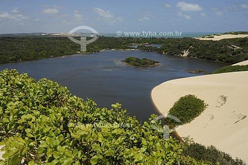 Assunto: Lagoa e dunas de Genipabu / Local: Natal - Rio Grande do Norte (RN) - Brasil / Data: 10/2009