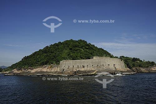 Assunto: Fortaleza de São João na entrada da Baía de Guanabara / Local: Rio de Janeiro - RJ - Brasil  / Data: 01/2010