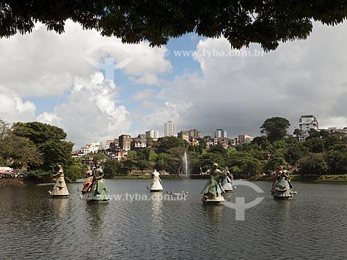 Assunto: Vista geral do Dique do Tororó  / Local:  Salvador - Bahia (BA) - Brasil  / Data: 07/2009