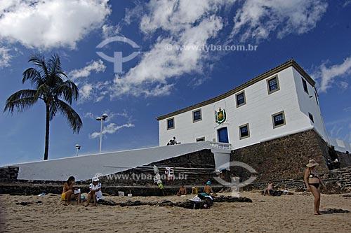 Assunto: Forte de Santa Maria, localizado na praia do Porto da Barra / Local:  Salvador - Bahia (BA) - Brasil / Data: 11/12/2009