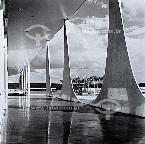 Assunto: Construção de Brasília - Palácio da Alvorada  / Local:  Brasília - Distrito Federal - Brasil  / Data: 1959