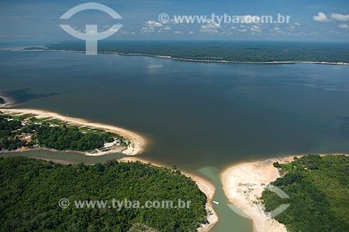 Assunto: Lago amazônico ao sul de Nova Olinda do Norte  / Local:  Amazonas (AM) - Brasil  / Data: 11/2007