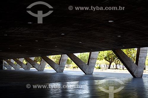 Assunto: Museu de Arte Moderna - MAM - idealizado pelo arquiteto Affonso Eduardo Reidy  / Local:  Rio de Janeio - RJ - Brasil  / Data: 05/02/2010