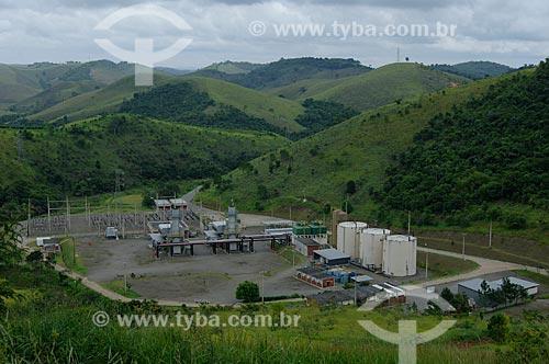 Assunto: Vista geral de Usina Termelétrica  / Local:  Juiz de Fora - MG - Brasil  / Data: 15/01/2010