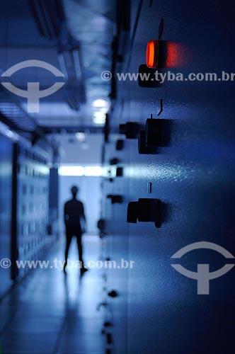 Assunto: Usina Termelétrica - Sala de Controle  / Local:  Juiz de Fora - MG - Brasil  / Data: 15/01/2008