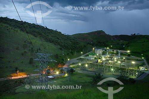 Assunto: Vista geral de Usina Termelétrica  / Local:  Juiz de Fora - MG - Brasil  / Data: 15/01/2008