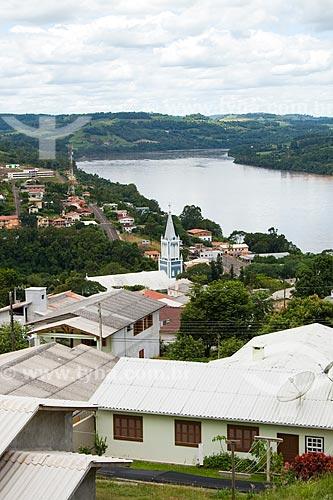 Assunto: Vista da cidade e Rio Uruguai / Local: Itapiranga - Santa Catarina - Brasil / Data: 02/2010