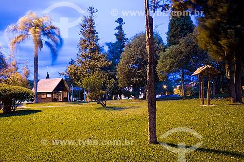 Assunto: Praça da Bandeira / Local: São Lourenço do Oeste - Santa Catarina - Brasil / Data: 02/2010