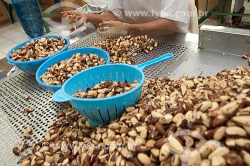 Assunto: Produção de castanhas do Pará / Local: Xapuri - Acre (AC) - Brasil / Data: 15/07/2009