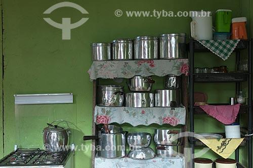 Assunto: Cozinha / Local: Xapuri - Acre (AC) - Brasil / Data: 15/10/2009