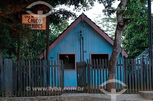 Assunto: Casa de Chico Mendes / Local: Xapuri - Acre (AC) - Brasil / Data: 15/07/2008