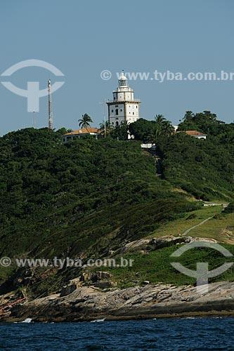 Assunto: Farol para navegação marítima na Ilha Rasa / Local: Rio de Janeiro - RJ - Brasil / Data: 04/2010