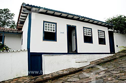 Assunto: Casa onde nasceu Juscelino Kubitshek  / Local:  Diamantina - Minas Gerais - MG - Brasil  / Data: 12/2008