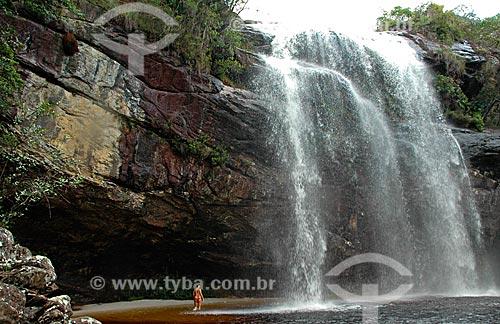 Assunto: Cachoeira Toca da Onça  / Local:  Capivari - Minas Gerais - MG - Brasil  / Data: 01/2009