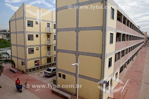 Assunto: Conjunto Habitacional do Programa de Aceleração do Crescimento - PAC Manguinhos  / Local:  Rio de Janeiro - RJ - Brasil  / Data: 19/05/2010