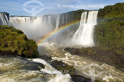 Assunto: Cataratas do Iguaçu no Parque Nacional do Iguaçu - o parque foi declarado Patrimônio Natural da Humanidade pela UNESCO  / Local: Foz do Iguaçu - PR - Brasil  / Data: 07/06/2009