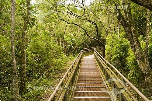 Assunto: Passarela no Parque Nacional do Iguaçu - o parque foi declarado Patrimônio Natural da Humanidade pela UNESCO  / Local: Argentina  / Data: 09/06/2009