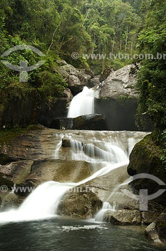 Assunto: Cachoeira Itaporani no Parque Nacional do Itatiaia  / Local:  Itatiaia - RJ - Brasil  / Data: 13/12/2008