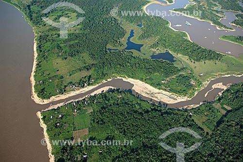 Assunto: Furo do Paracuúba, na várzea do rio Solimões,  logo antes do encontro das águas  / Local:  Município de Iranduba - Amazonas (AM) - Brasil  / Data: 11/2007